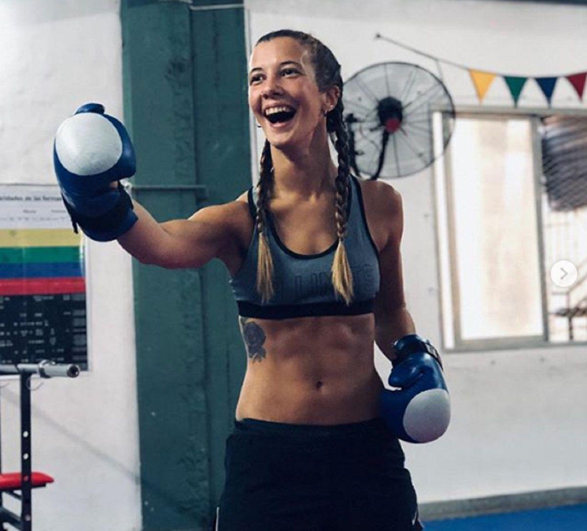 Rocío empezó a pelear en 2004 casi de casualidad y ya no paró