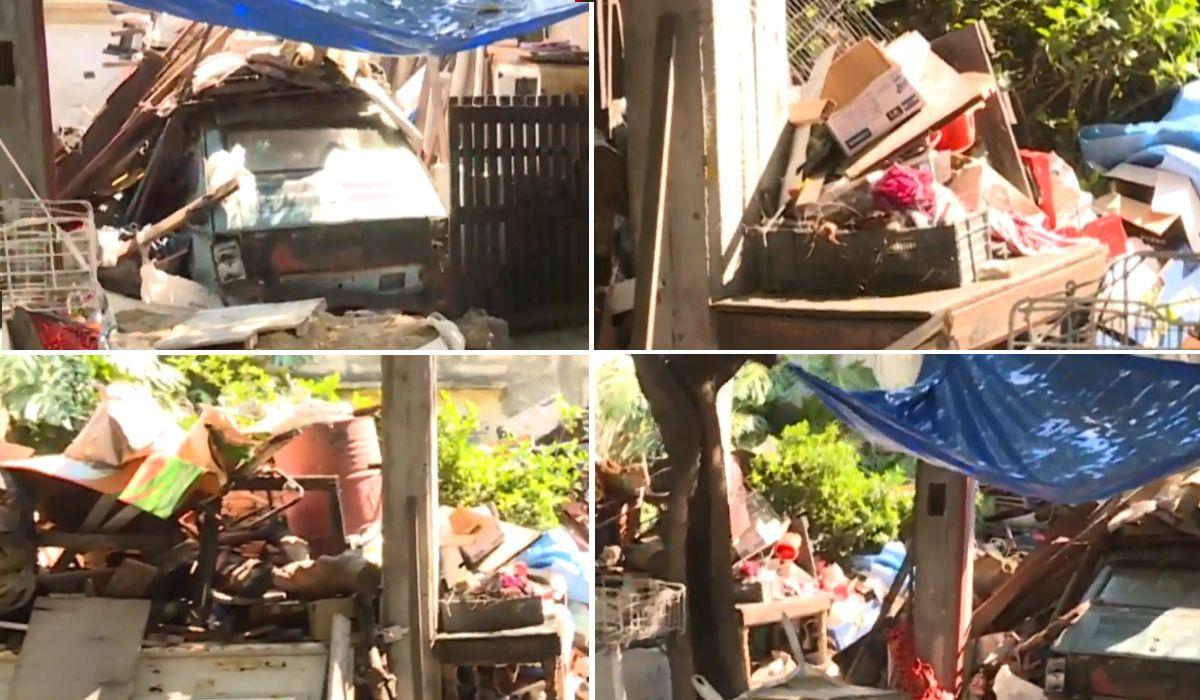 Guerra entre vecinos en Quilmes por un hombre que acumula basura en su casa y atrae ratas