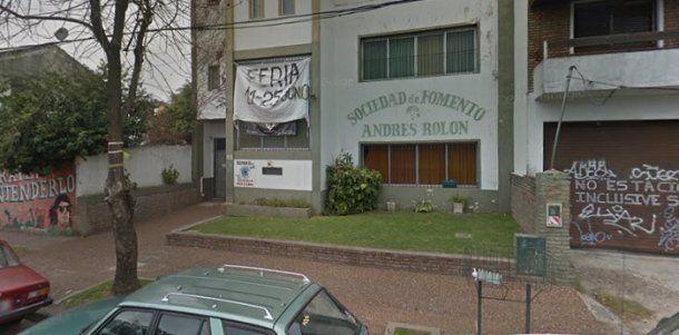 El club donde Rocío empezó a practicar taekwondo y en el que ahora da clases