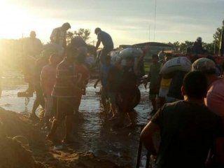 ya son mas de 3.500 las personas evacuadas por las inundaciones en chaco, entre rios y corrientes