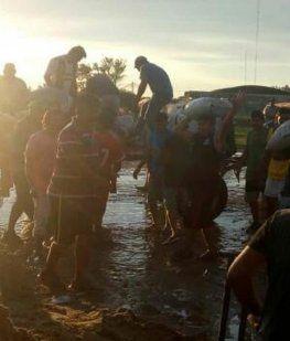Suman más de 3.500 los evacuados por las lluvias en Chaco, Entre Ríos y Corrientes
