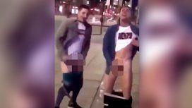 Escándalo: un futbolista de Selección fue filmado masturbándose en la calle