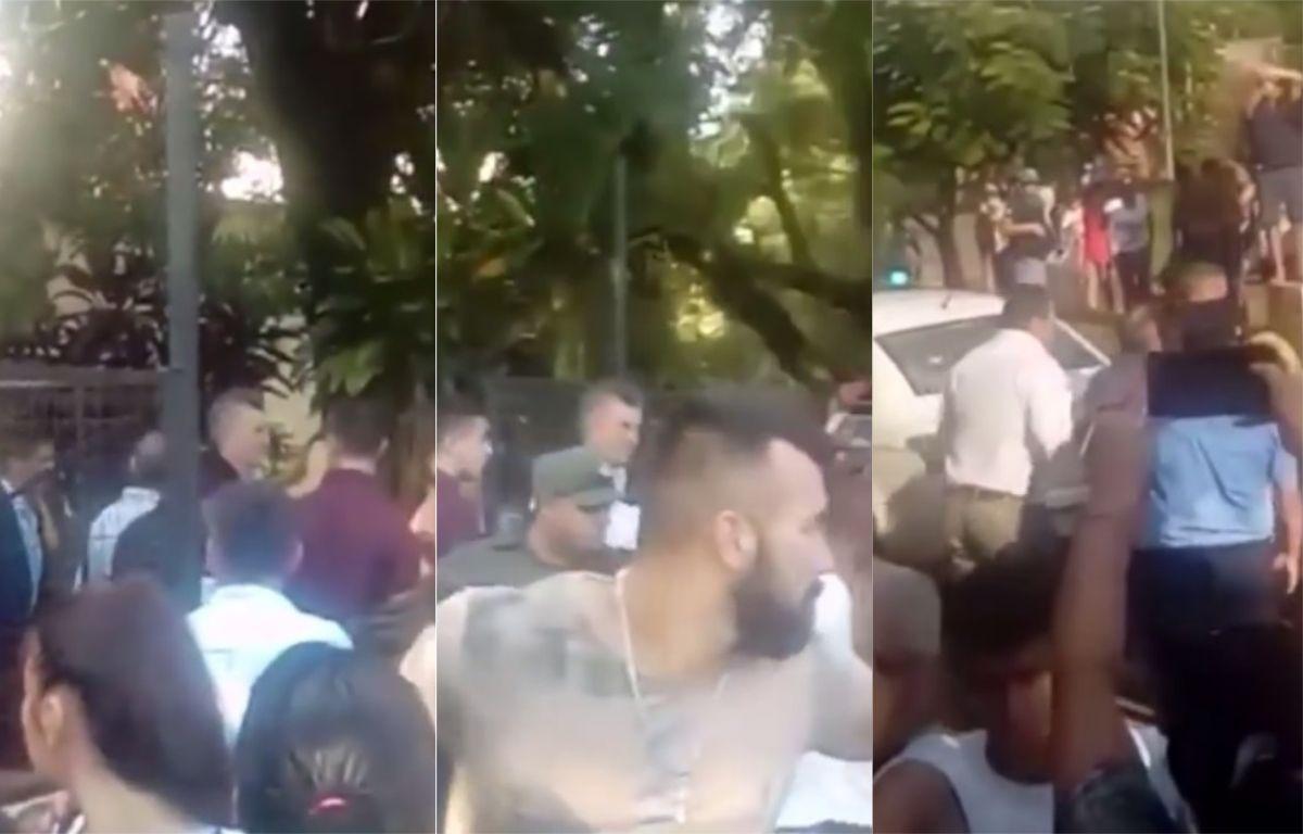 VIDEO: Escracharon a Macri por las inundaciones durante su visita al Chaco