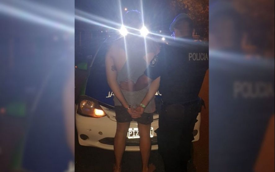 El hombre está detenido en Batán