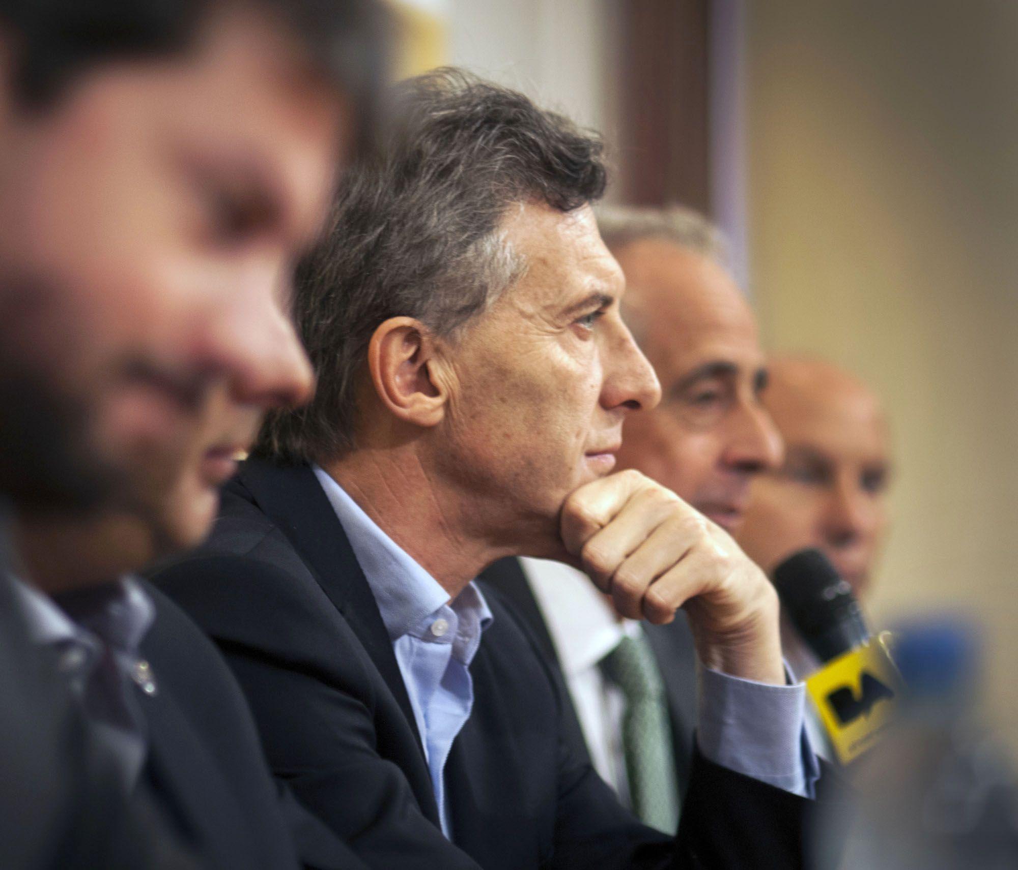 Mauricio Macri y Rodolfo DOnofrio