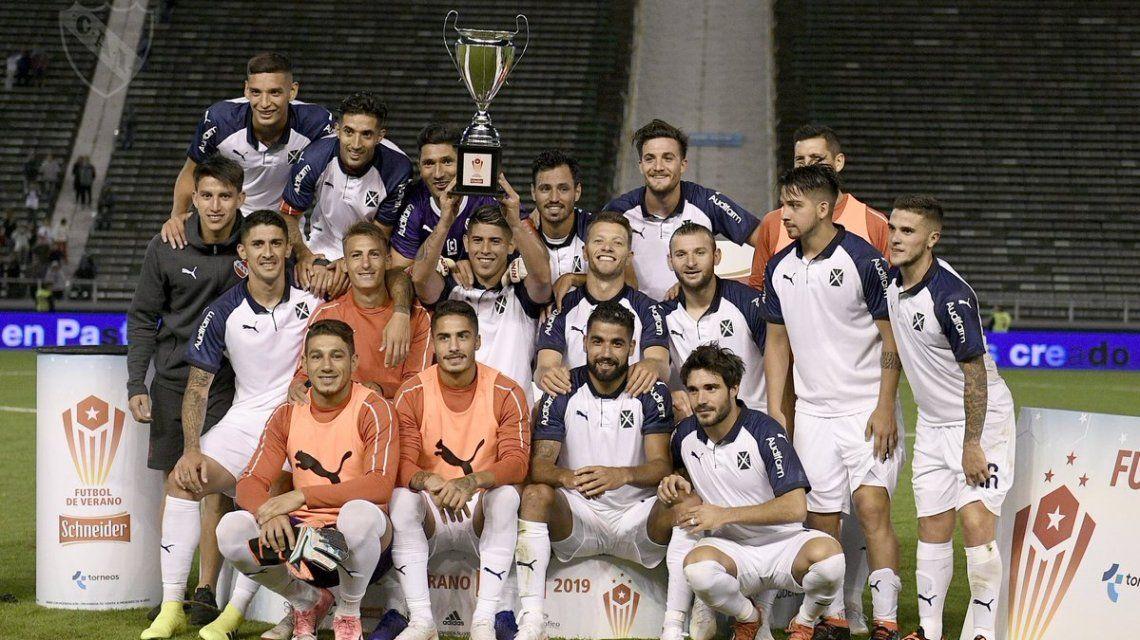 Independiente le ganó a Gimnasia y festejó