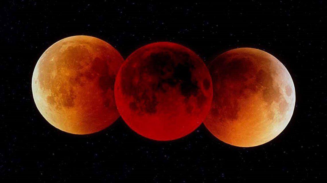 Eclipse lunar 2019: ¿dónde, cuándo y cómo ver la Superluna roja en la Argentina?