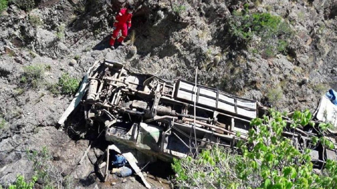 Cuatro argentinos muertos en un accidente en Bolivia - Crédito: Viral Bolivia Noticias
