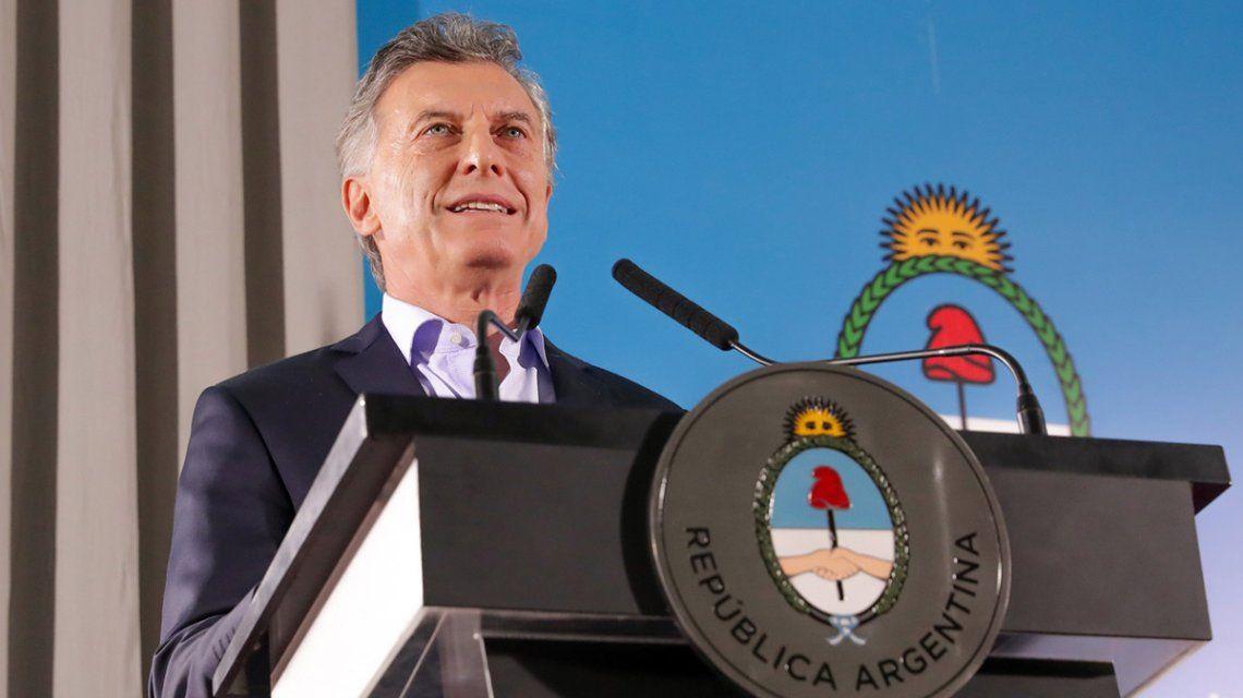 Macri hará un anuncio este lunes desde la Casa Rosada