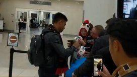 El Pity Martínez llegó a Estados Unidos y lo recibieron con su hit