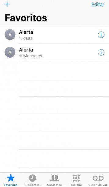 El sistema antipánico en el celular de Marina
