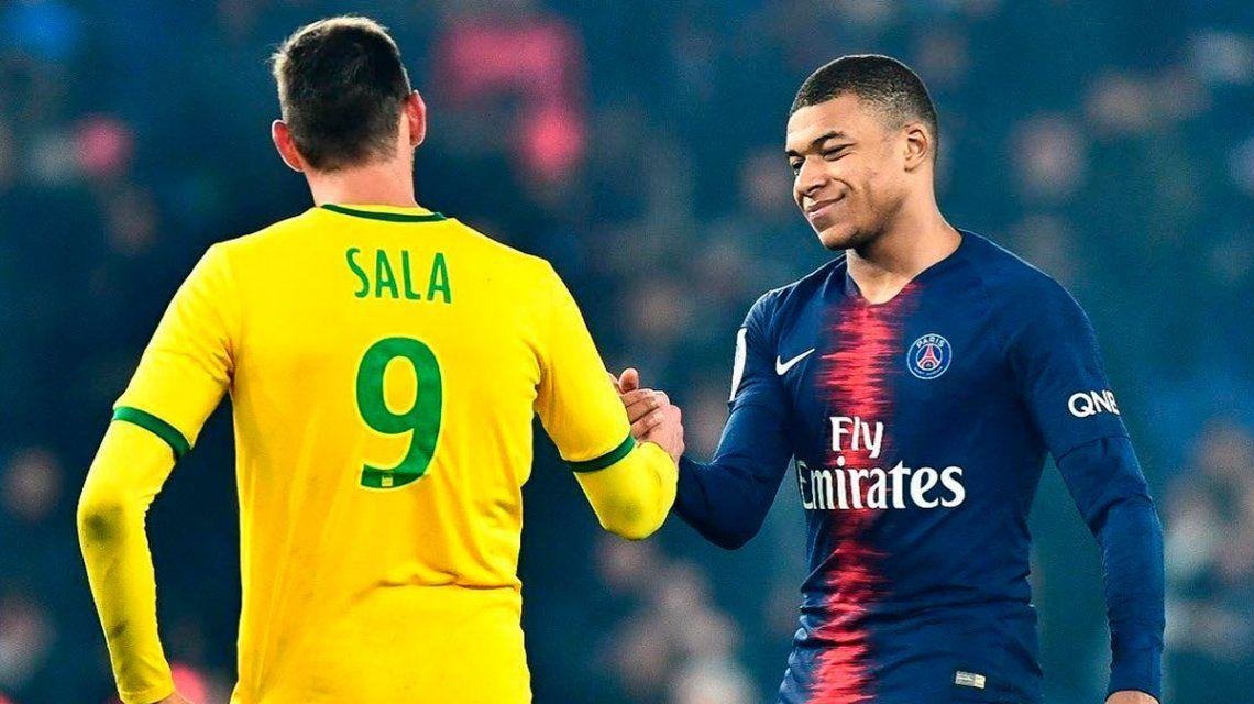 Kylian Mbappé se sumó al ruego por la aparición de Emiliano Sala