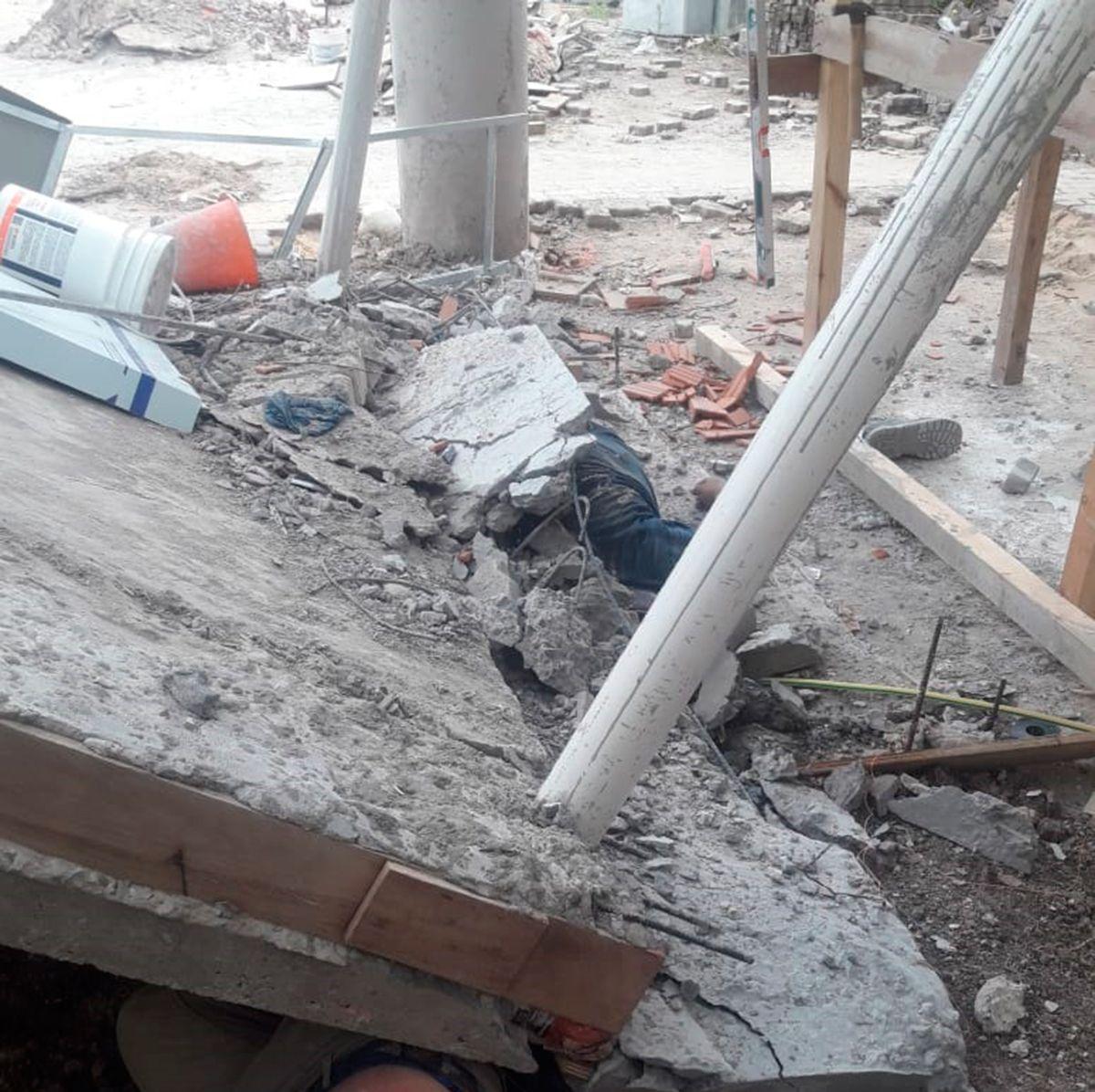 Un muerto y dos heridos por un derrumbe en una construcción en Munro