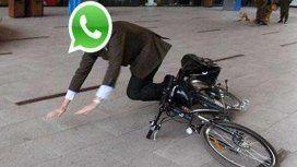 Se cayó WhatsApp y se cayeron los memes
