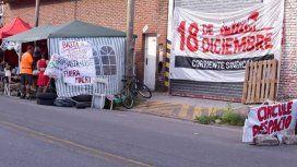 Acampe en Pilkington - Crédito: @NuevoMas_CABA