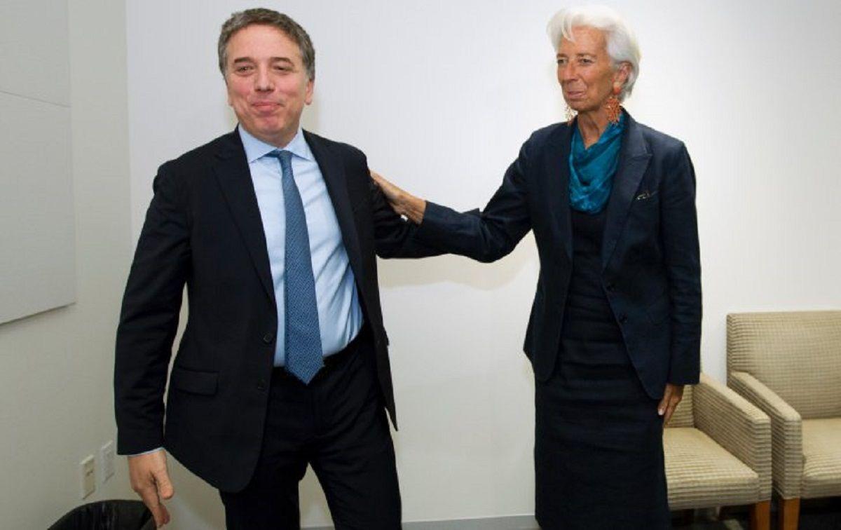 Lagarde felicitó a Dujovne y Sandleris por estabilizar la economía del país