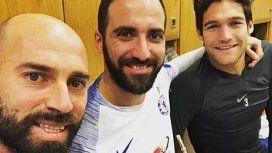 ¡No lo ayudan! El primer error insólito de Higuaín como jugador del Chelsea