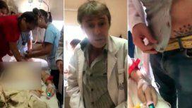 Mala praxis y escándalo: escrachan a un médico borracho mientras una paciente agonizaba