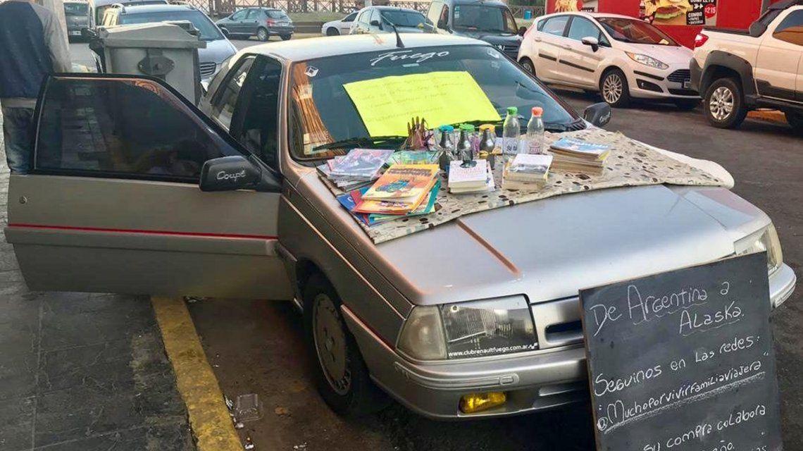De Chascomús a Alaska: el viaje soñado de una familia argentina que quiere recorrer América en una coupé Fuego
