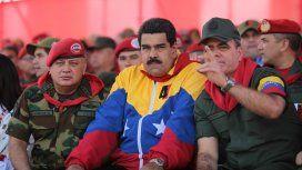Diosdado Cabello, Nicolás Maduro y Vladimir Padrinos