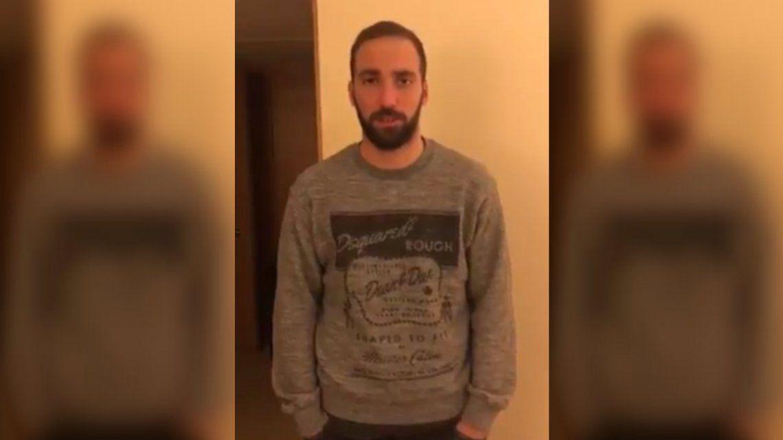 El pedido de Gonzalo Higuaín por Emiliano Sala: No hay que parar y hay que ir hasta el final