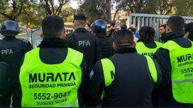 Murata, empresa de seguridad privada en el INTI - Crédito:@LaNaranjaINTI