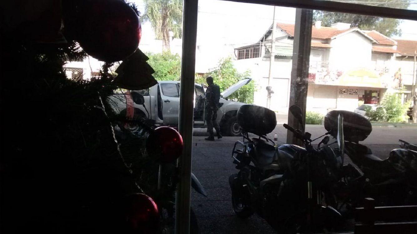 Moreno: un policía quiso evitar un robo y mató accidentalmente a su mujer
