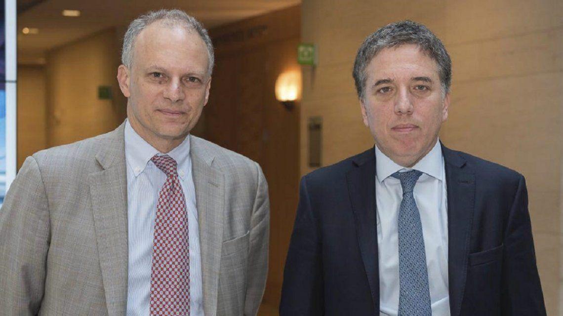 Alejandro Werner y Nicolás Dujovne