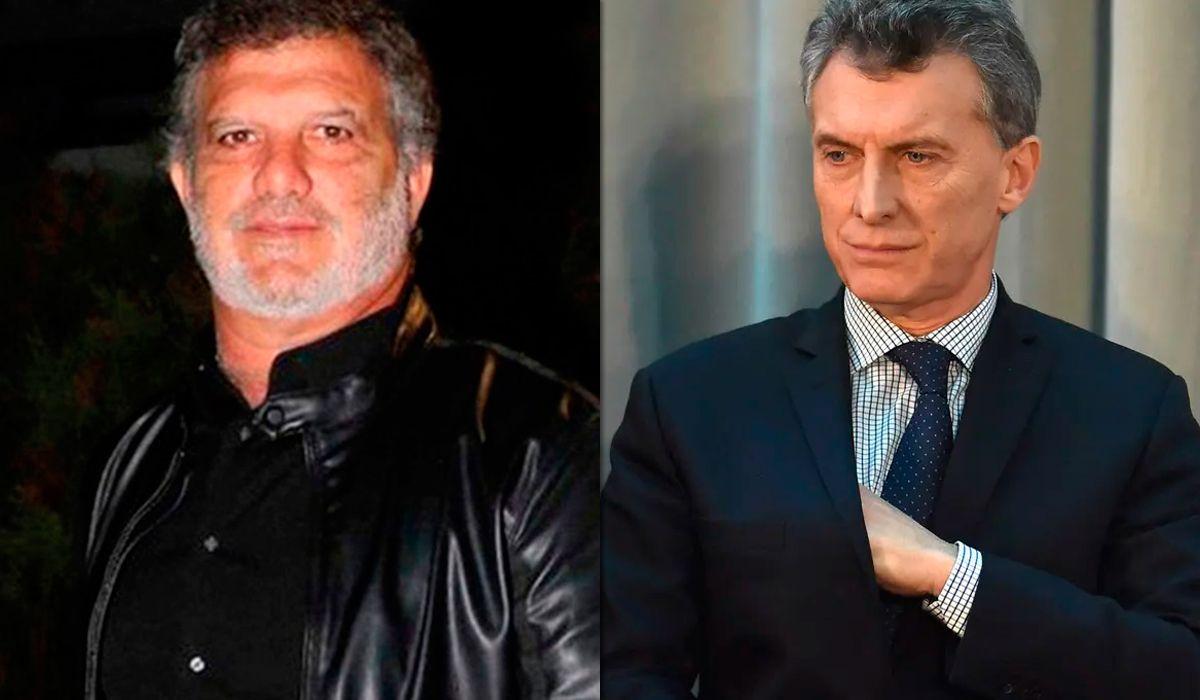 Gianfranco y Mauricio Macri
