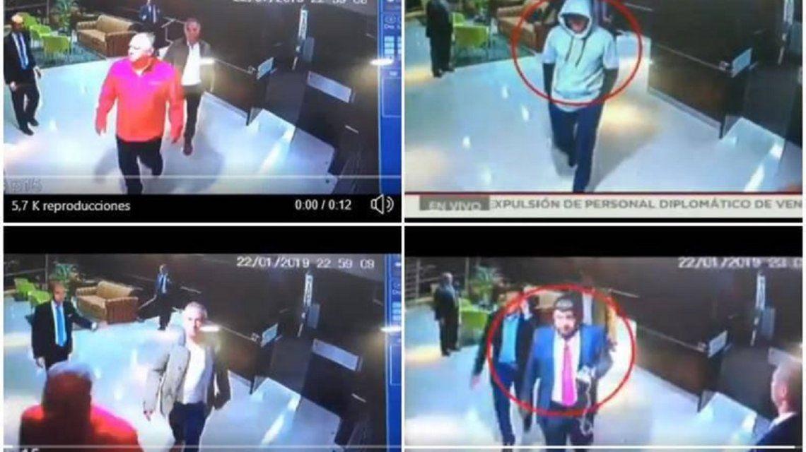 Supuesto video de Juan Guaidó
