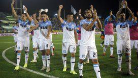 Racing le ganó a Aldosivi en Mar del Plata y es el único líder de la Superliga