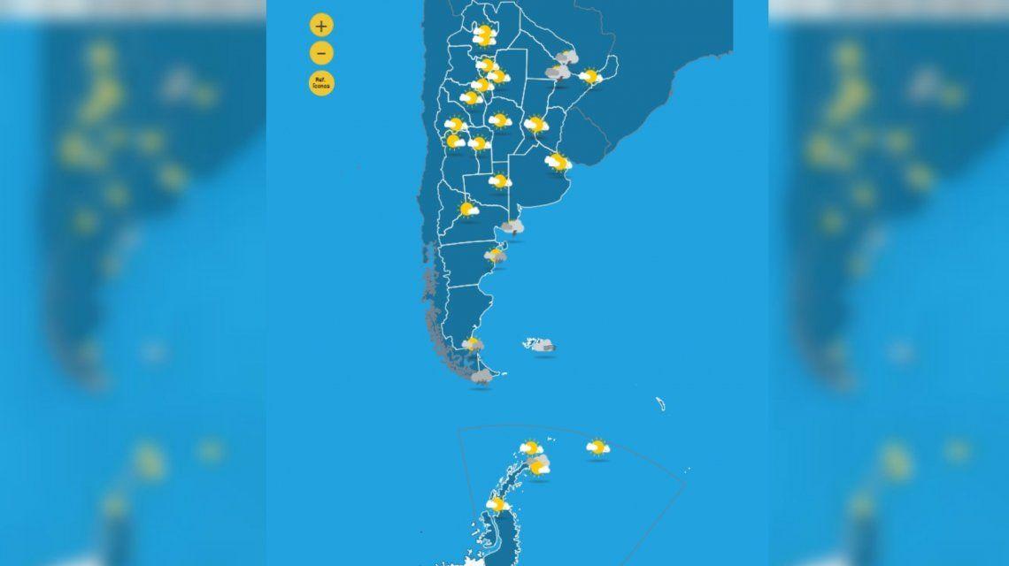 Imagen Servicio Meteorológico Nacional