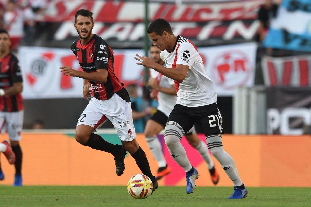 River vs Patronato en la Superliga - Crédito.@CARPoficial