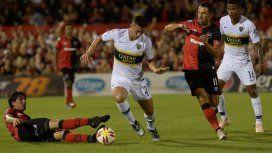 Boca empató con Newells en el debut oficial de Alfaro