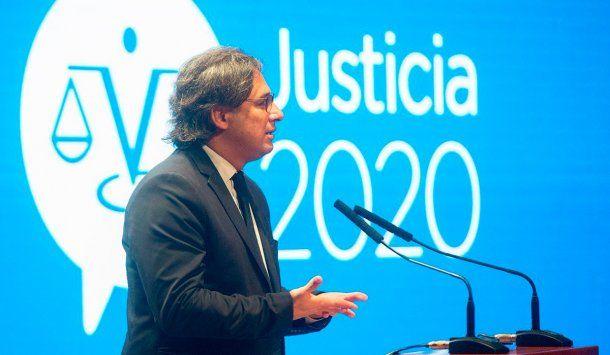 <p>Ministro de Justicia Germán Garavano</p>