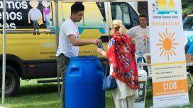 Contra la agobiante ola de calor: llegan las postas de hidratación a la Ciudad