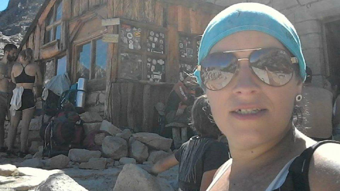 Valeria Coppa estaba andando en bicileta cuando recibió el disparo