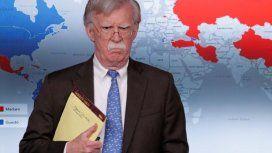 John Bolton: Es como cuando Darth Vader ahorca a alguien