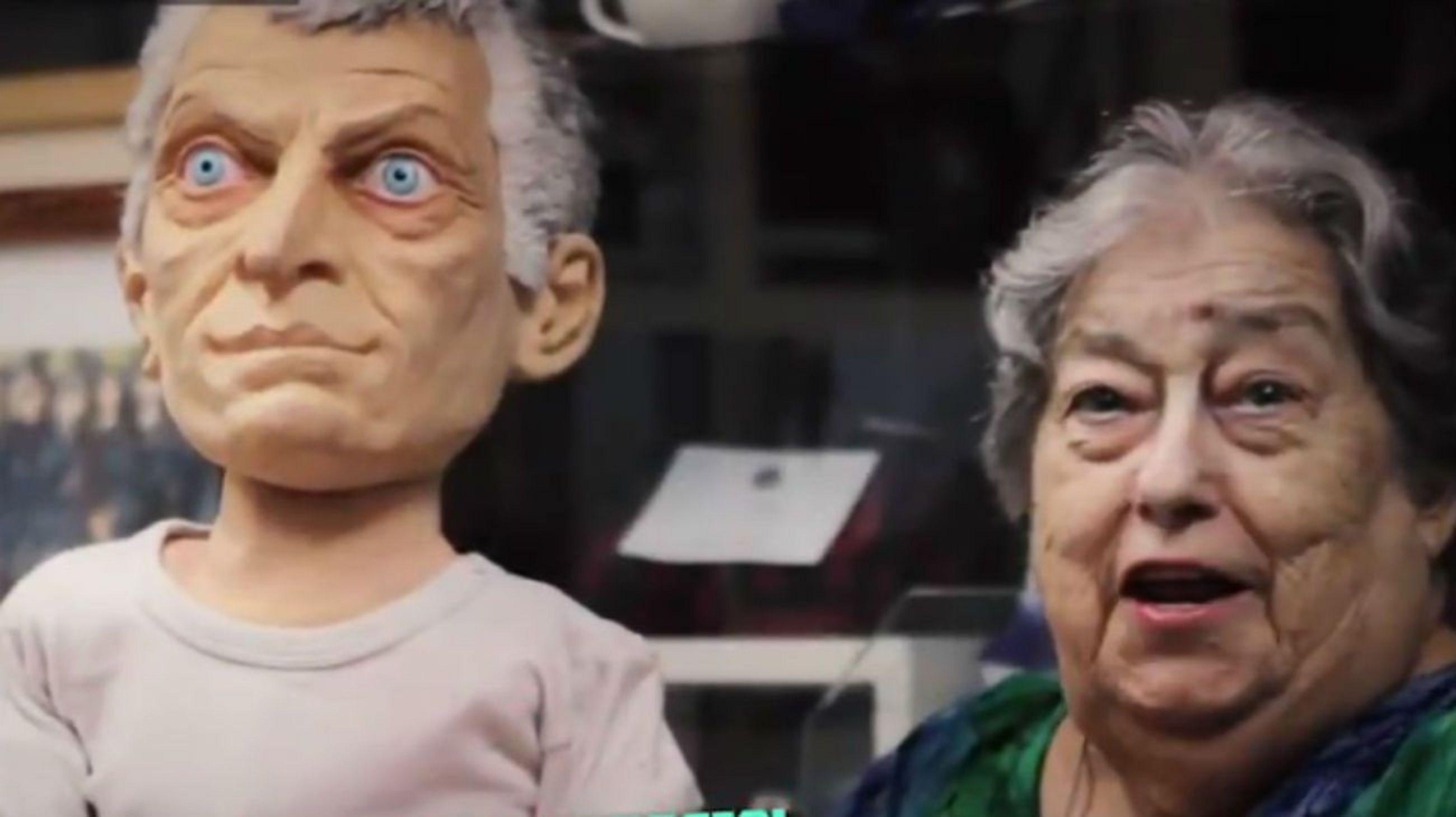 MirkoRupto, el muñeco de Macri con el que se burla Hebe de Bonafini