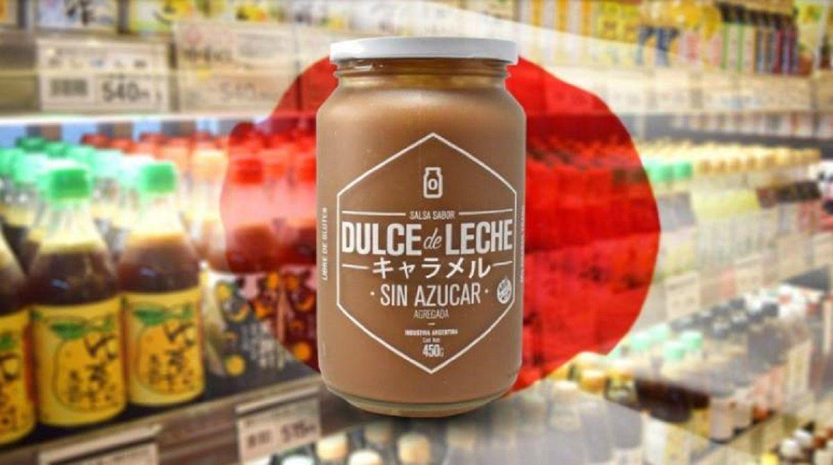 El dulce de leche argentino llegó a Japón