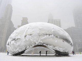 Ola de frìo en Chicago