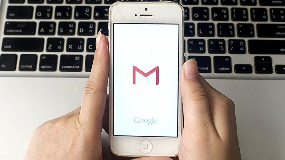 Google presentó grandes cambios en el diseño de la app de Gmail