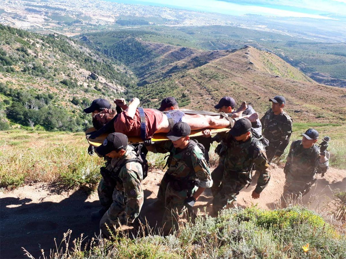 Femicidio en Bariloche: Cordi tenía una bala en la cabeza, fue operado y se encuentra estable