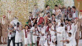 Qatar, rival argentino en la Copa América, salió campeón e hizo un gol impresionante