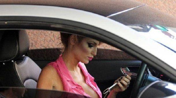 Victoria Xipolitakis guardaba su auto en el Hotel Las Naciones<br>