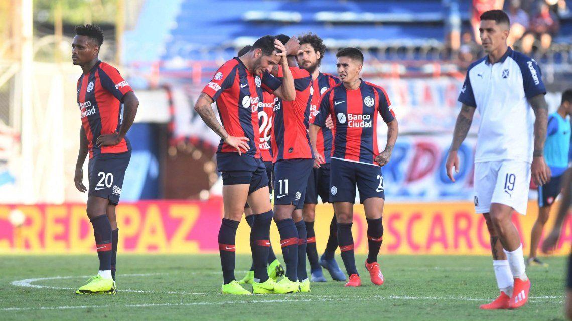 San Lorenzo e Independiente empataron y siguen sin ganar