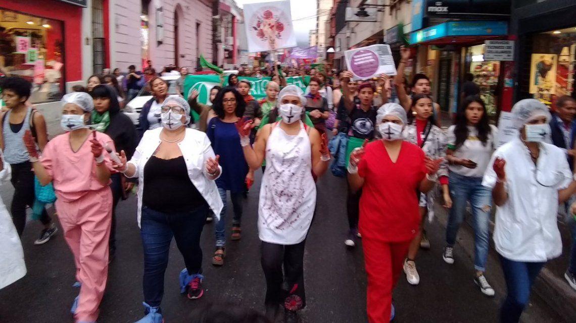 Marcha por la renuncia de Gustavo Bouhid