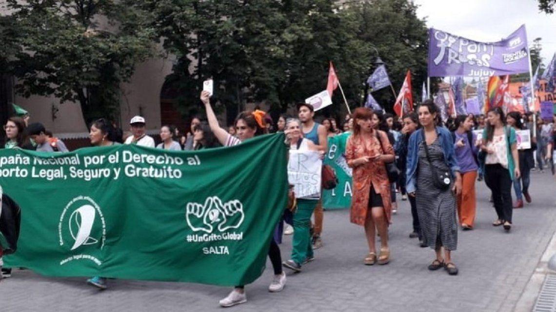 Masiva convocatoria en San Salvador de Jujuy