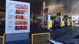 Shell aumentó este domingo sus naftas un 2