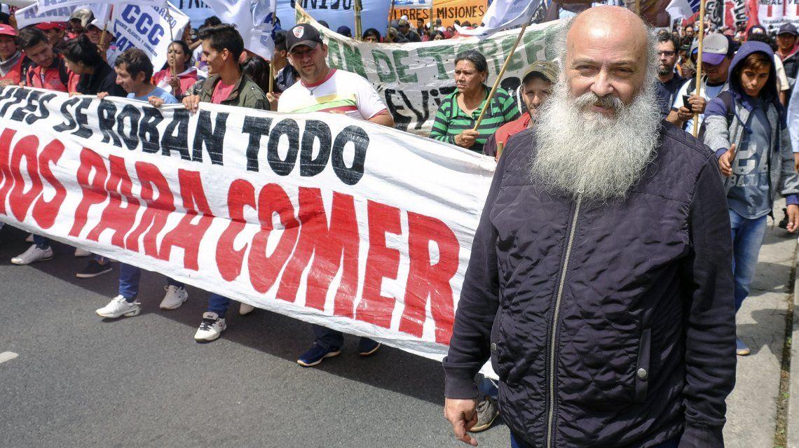 Emilio Pérsico es uno de los líderes del Movimiento Evita